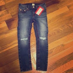 Tru Religion girls denim jeans